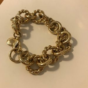 Jcrew gold chain bracelet